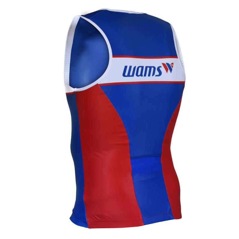 Triathlon Tri Shirt ärmellos hinten