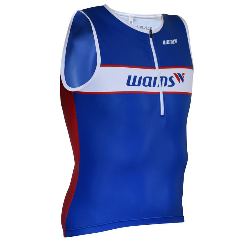 Triathlon Tri Shirt ärmellos vorne