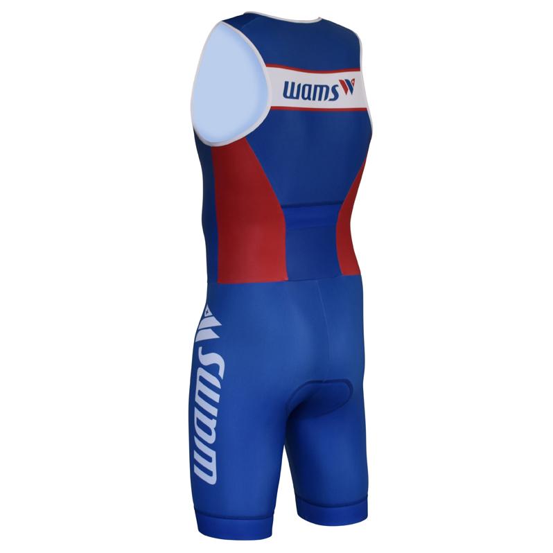 Triathlon Tri Suit ärmellos hinten