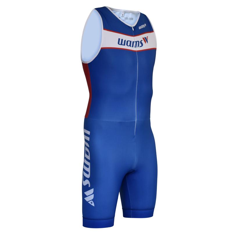 Triathlon Tri Suit ärmellos vorne